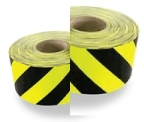 3M Class 1 Reflective Tape Black/Yellow 100mm x 45.7mtr roll