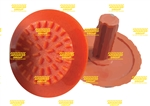 Orange Tap-In Compfit Poly Tactile Indicators Hazard Studs
