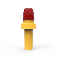Led Cone Light - Led Cone Light - Red, Sold Per Each