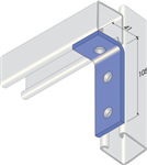 L Bracket for Unistrut - 90 Degree Angle Fitting