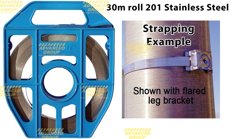 China 304 316 Stainless Steel Metal Binding Strapping Tape