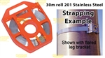 Banding strap Stainless Steel