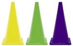 Coloured Traffic Cones 450mm