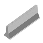 4m. Concrete Jersey Barrier (Vic only)