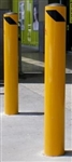 140mm In Ground Bollard - Galv & P/Coat Finish