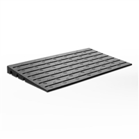 Access Ramp 75mm - Black Rubber