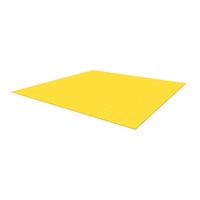 FRP floor plate 1200 x 1200mm - yellow