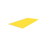 FRP floor plate 600 x 1200mm - yellow