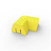 Menni 90 degree corner module - yellow