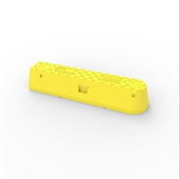 Menni end module, 550mm - yellow