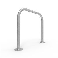Bike Rail - Style 1 - Rounded 850 X 800mm Surface Mounted - Galvanised Steel