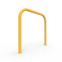 Bike Rail - Style 1 - Rounded 850 x 800mm Below Ground - Galvanised Steel and Powder Coated
