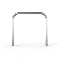 Bike Rail - Style 2 Below Ground 316 Stainless Steel