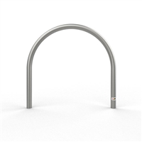 Bike Rail - Style 3 Below Ground 316 Stainless Steel