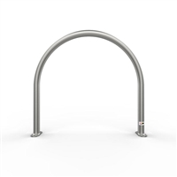 Bike Rail - Style 3 Surface Mounted 316 Stainless Steel