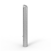 Sleeve-Lok Removable Bollard 140mm diameter freestanding post Gal Finish (no padlock)