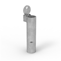 63mm diameter in-ground sleeve - new concrete - for Sleeve-Lok Removable Bollard