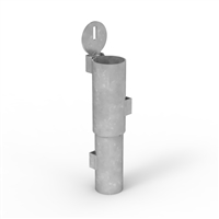 90mm diameter in-ground sleeve - new concrete - for Sleeve-Lok Removable Bollard