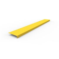 FRP Stair nosing 1200 x 152 x 30mm- yellow