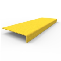FRP Stair nosing 450 x 152 x 30mm- yellow