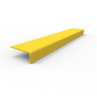 FRP Stair nosing 450 x 76 x 30mm yellow