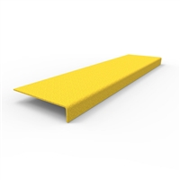 FRP Stair nosing 600 x 152 x 30mm- yellow