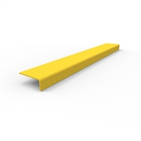 FRP stair nosing 600 x 76 x 30mm - yellow