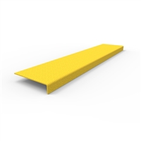 FRP Stair nosing 750 x 152 x 30mm- yellow