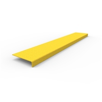 FRP Stair nosing 900 x 152 x 30mm- yellow