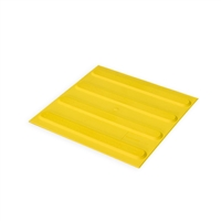 Directional Tactile Pad 300 x 300mm - Yellow TPU