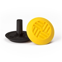 Warning Tactile Indicators Round Pack Of 100 - Yellow Tpu