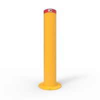 Heavy Duty Steel - Round Bollard 220mm Surface Mounted - Galvanised and Powder Coated