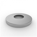 Base Cover to suit 168mm Round Bollard - 316 Stainless Steel