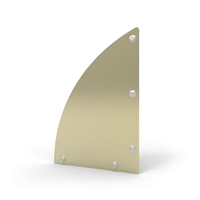De-fence gate kick plate 300 x 200 x 3mm