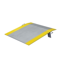 Dock Plate 1220 x 1220mm - Aluminium