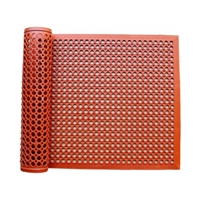 Floor Mat, red (oil resistant)