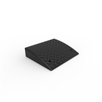 Kerb Ramp Rubber - Black  L:485 x W:425 x H:110mm