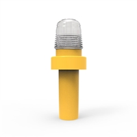 Led Cone Light - Led Cone Light - White, Sold Per Each