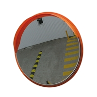 Convex Mirror Stainless Steel 1000mm- post/wall mount