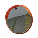 Convex Mirror Stainless Steel 600mm- post/wall mount