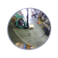 Convex mirror - 800mm indoor (wall & post mount bracket supplied)