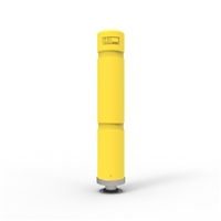 Magna Post - Magnetic Flexible Bollard - 700mm High - Yellow