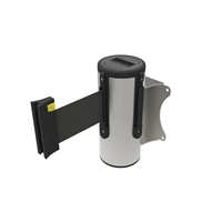 Neata Wall Mount Barrier 3M - 304 Stainless Steel - Black