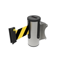 Neata Wall Mount Barrier 3M - 304 Stainless Steel - Black/Yellow