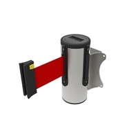 Neata Wall Mount Barrier 3M - 304 Stainless Steel - Red
