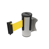 Neata Wall Mount Barrier 3M - 304 Stainless Steel - Yellow