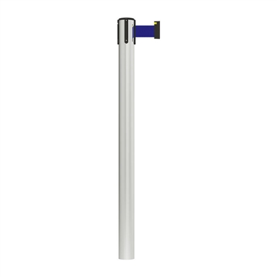Stanchion Fixed In-Floor Economy Belt Post 3M - Blue