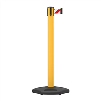 Stanchion Highline Upvc Belt Post 3M - Red/White