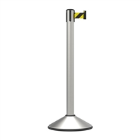 Stanchion Highline Premium Belt Post 3M - Black/Yellow
