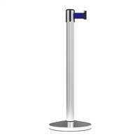 Stanchion Midline Economy Belt Post 3M - Blue